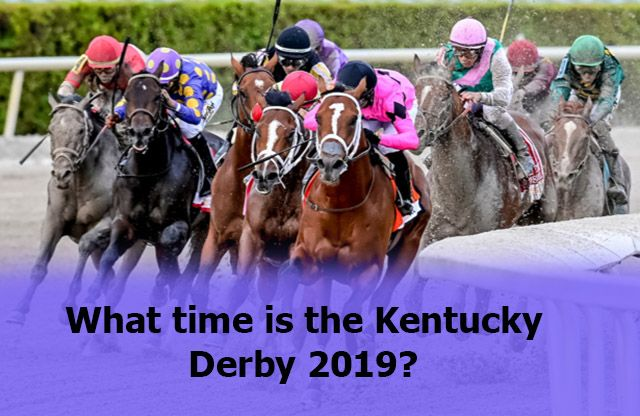 kentucky derby 2019 time